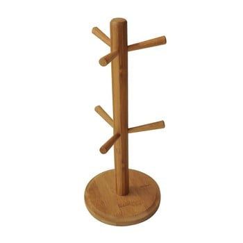 Suport din bambus pentru căni Bambum Fuchia
