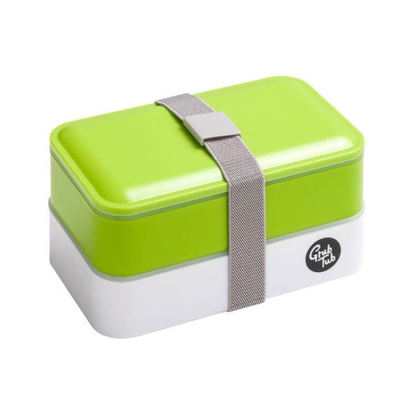 Svačinový box Premier Housewares Cutlery Green