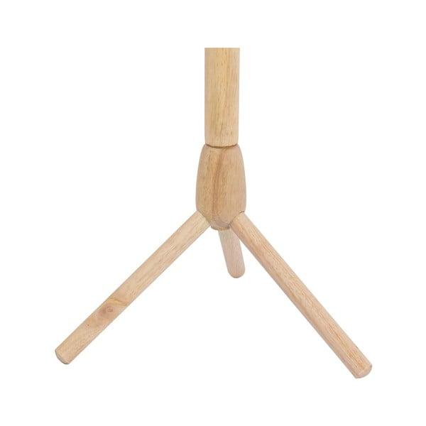 Cuier din lemn masiv de cauciuc Furniteam Design, înălțime 175 cm