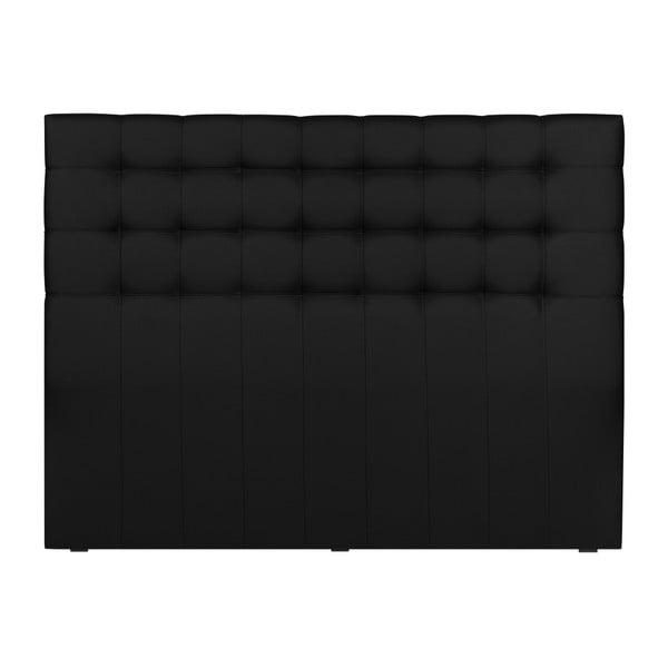 Černé čelo postele Windsor & Co Sofas Deimos, 160 x 120 cm