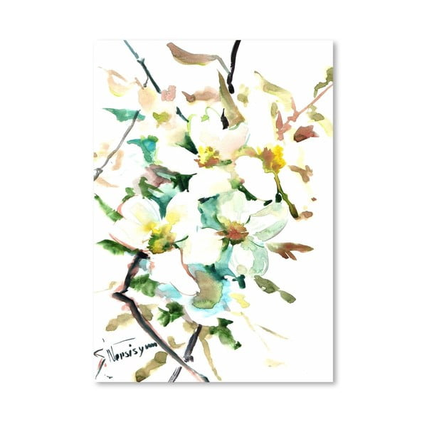 Plakát Dogwood Flowers od Suren Nersisyan