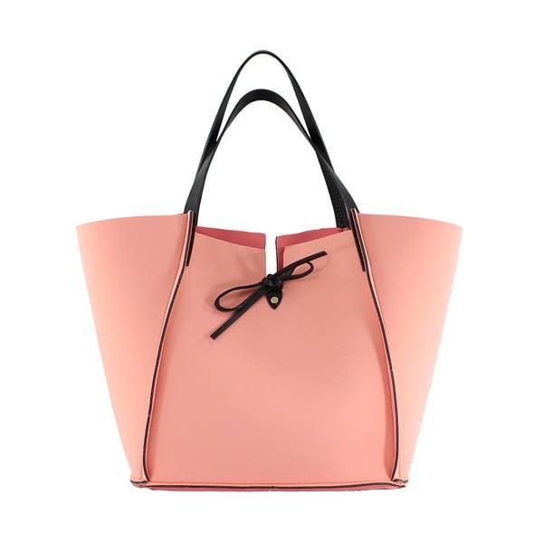 Neoprenová kabelka Fiertes, růžová
