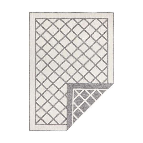 Šedo-krémový venkovní koberec Bougari Sydney, 150 x 80 cm