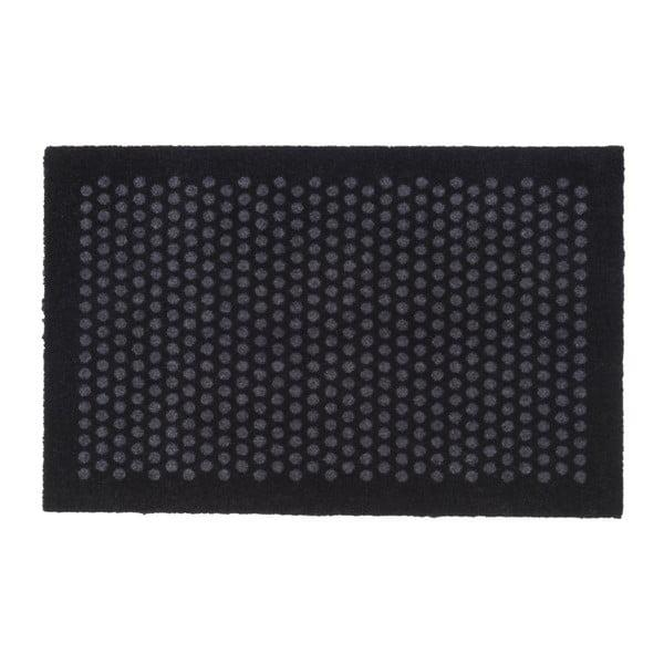 Černošedá rohožka tica copenhagen Dot, 60x90cm