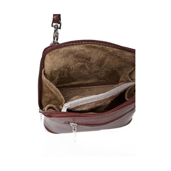 Kožená kabelka Giorgio Costa 15027 Brown