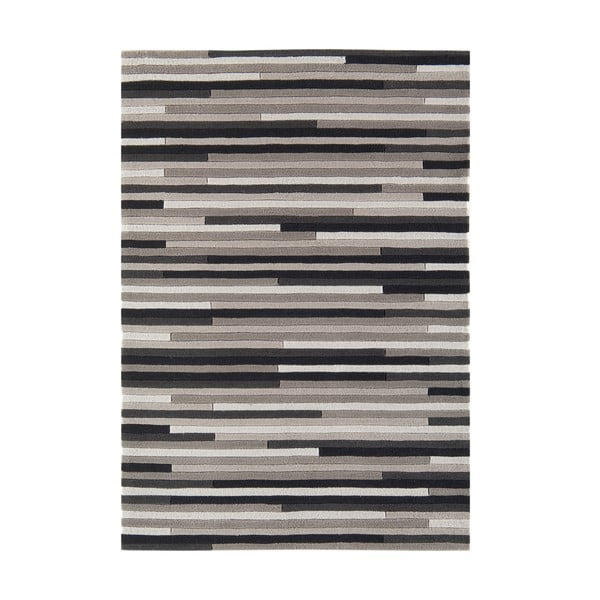 Koberec Asiatic Carpets Harlequin Lines Grey, 120x170 cm