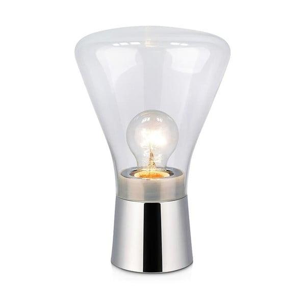 Stolní lampa ve stříbrné barvě Markslöjd Jack, ø16,5cm