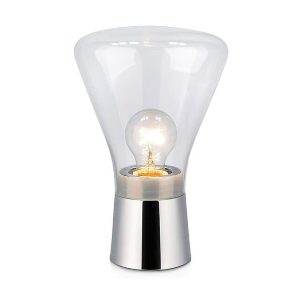 Stolová lampa v striebornej farbe Markslöjd Jack