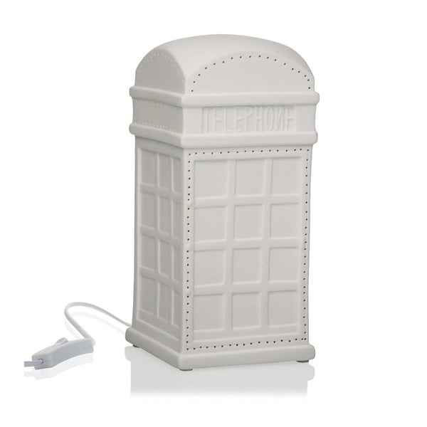 Telefonfülke alakú porcelán asztali lámpa - Versa