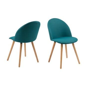 Set 2 scaune Actona Manley, albastru de la Actona