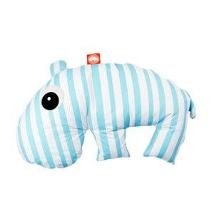 Modro-bílý polštářek Done by Deer Mini Sackjack