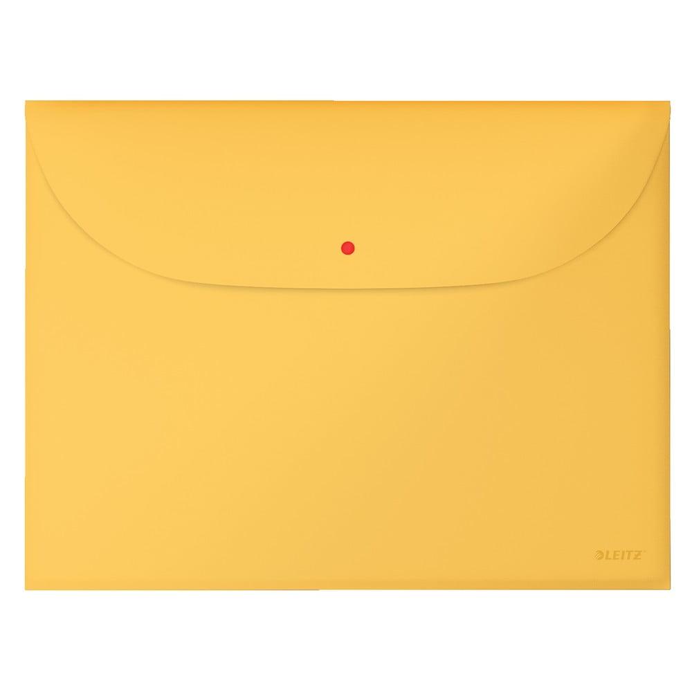 Žlutá aktovka na dokumenty Leitz Cosy, A4