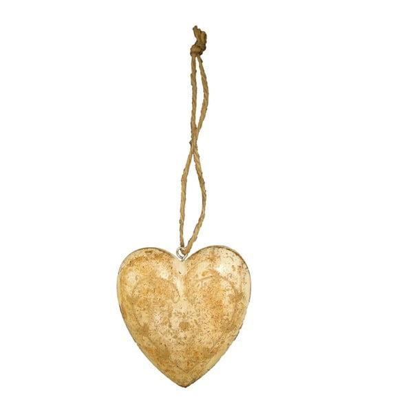 Závěsná dekorace ve tvaru srdce Antic Line Light3