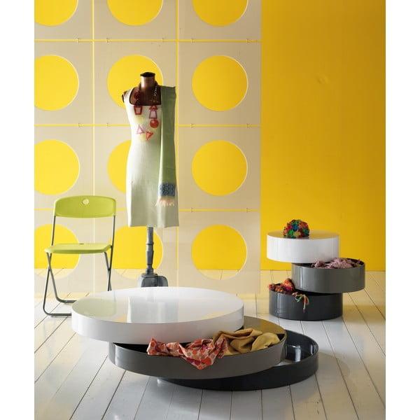 Konferenční stolek s úložným prostorem Design Twist Sardara