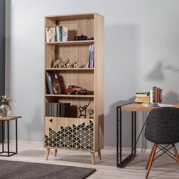Knihovna Booki Green, 198 x 75 cm