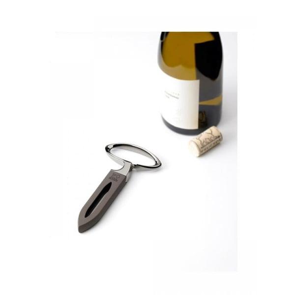 Otvírák k otevření lahve bez propíchnutí zátky Mathus, bazaltový
