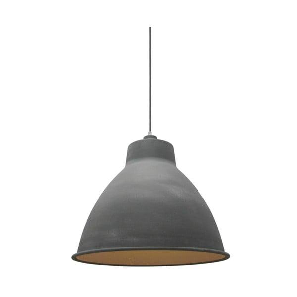 Šedé stropní svítidlo LABEL51 Dome