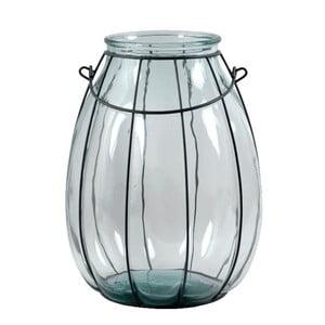 Váza z recyklovaného skla Ego Dekor, výška 32cm
