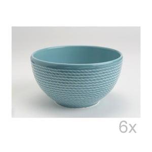 Miska Turquoise 15 cm (6 ks)