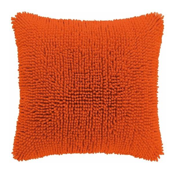 Shaggy narancssárga párnahuzat, 45 x 45 cm - Tiseco Home Studio
