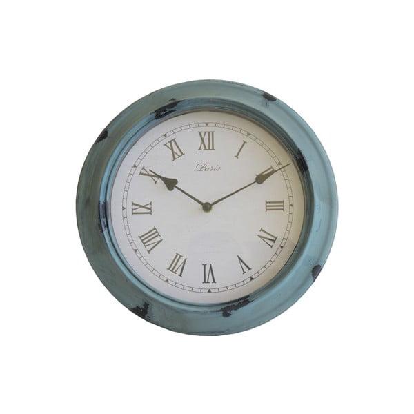 Nástěnné hodiny Retro, modré
