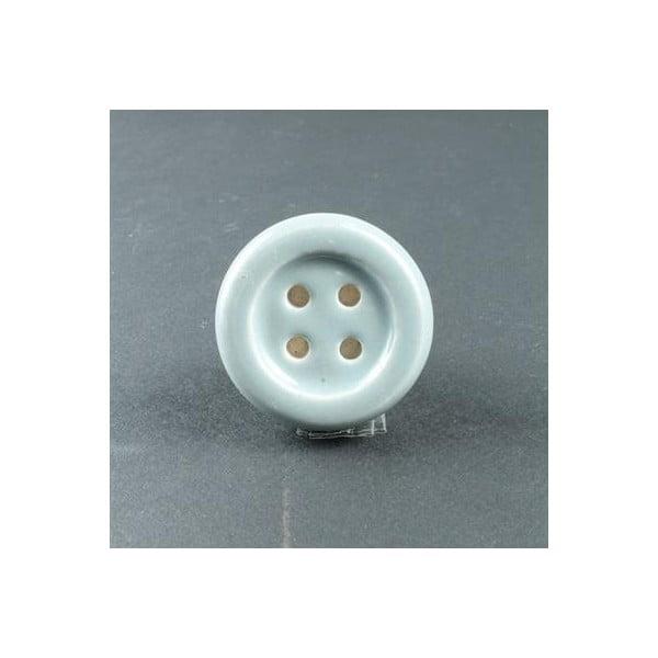 Porcelánová úchytka Blue Button