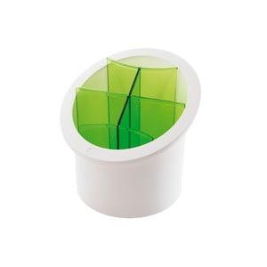 Zelený stojan na příbory Snips Cutlery