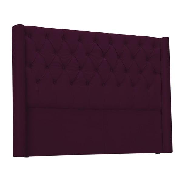 Červené čelo postele Windsor & Co Sofas Queen, 196 x 120 cm