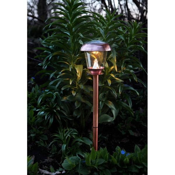 Měděné zahradní LED světlo Best Season Pathlight