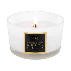 Lumânare cu aromă de crin PT LIVING Scented Candle, timp de ardere 27 ore