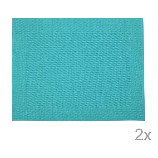 Sada 2 prostírání Saleen Blue, 30x40 cm
