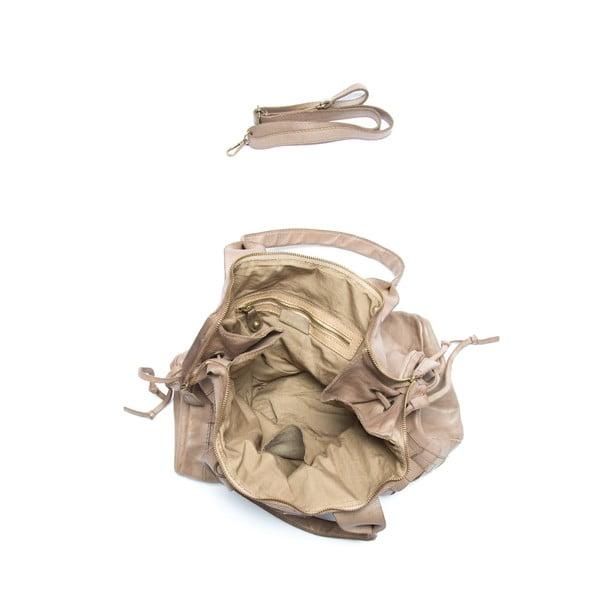 Kožená kabelka Mangotti 0007, kámen