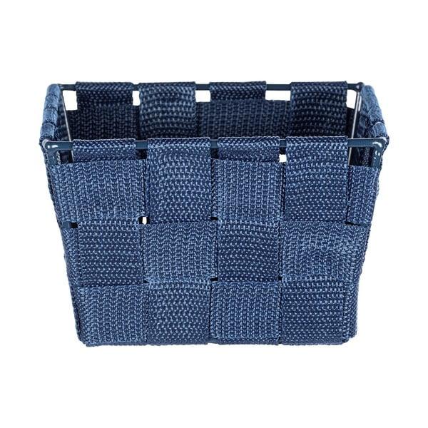 Modrý úložný košík Wenko Adria, 14 × 9 cm