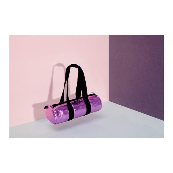 Pouzdro na tužky DOIY Duffle Bag Glossy Pink