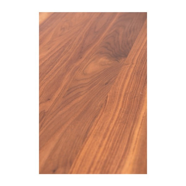 Jídelní stůl s deskou z ořechového dřeva Charlie Pommier Serious, 170x80cm