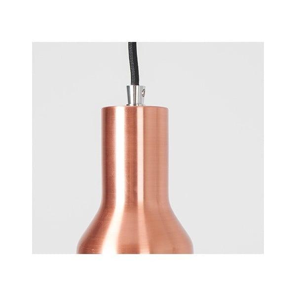Závěsné svítidlo Mora S Copper z kavárny U Kubistů
