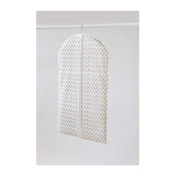 Husă pentru îmbrăcăminte Compactor Clear, lungime 100 cm, alb de la Compactor