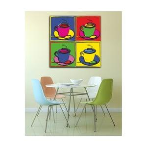 Obraz Pop Art Coffee, 50x50cm