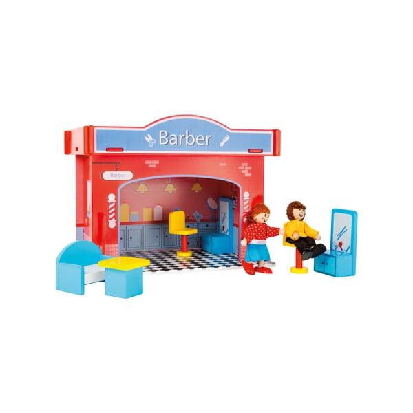 Detský drevený kadernícky salón Legler Playhouse Hair Salon