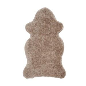 Hnědá umělá kožešina Safavieh Tegan, 91x152cm