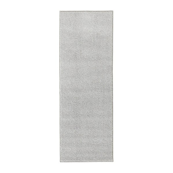 Covor Hanse Home Pure, 80 x 400 cm, gri deschis