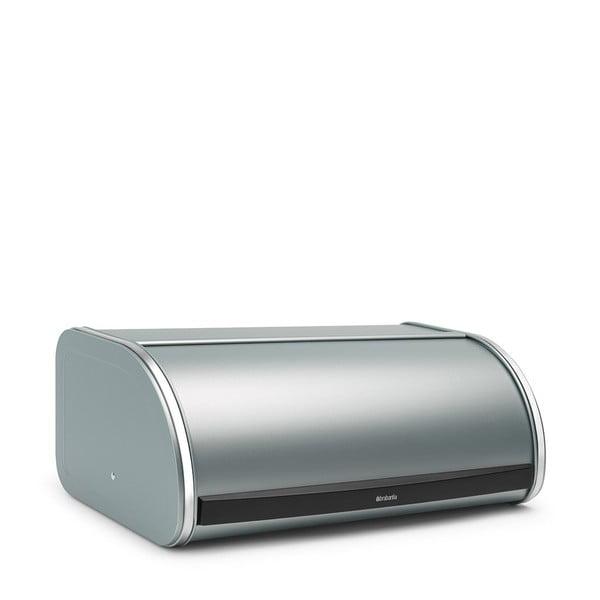 Cutie pentru pâine Brabantia Roll Top, albastru metalic