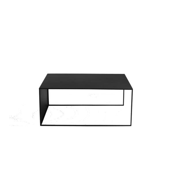Černý konferenční stolek Custom Form 2Wall, 100x60cm