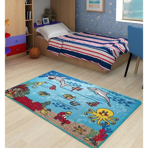 Dětský koberec Underwater, 133x190 cm