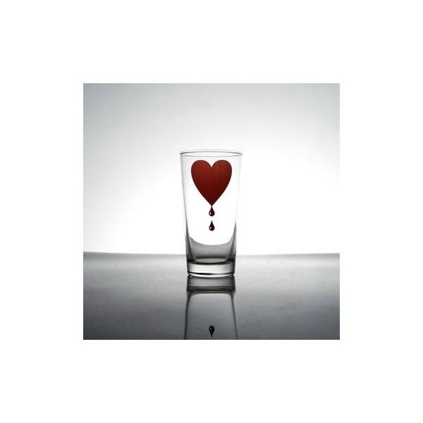 Sklenice Bloody Heart, 2 ks