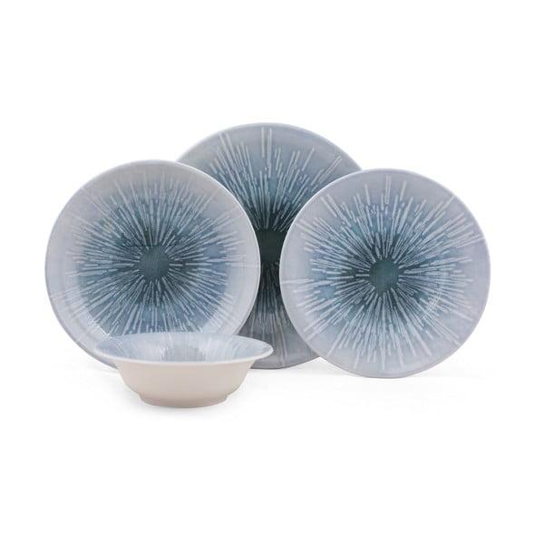 24-częściowy zestaw talerzy porcelanowych Kutahya Frento