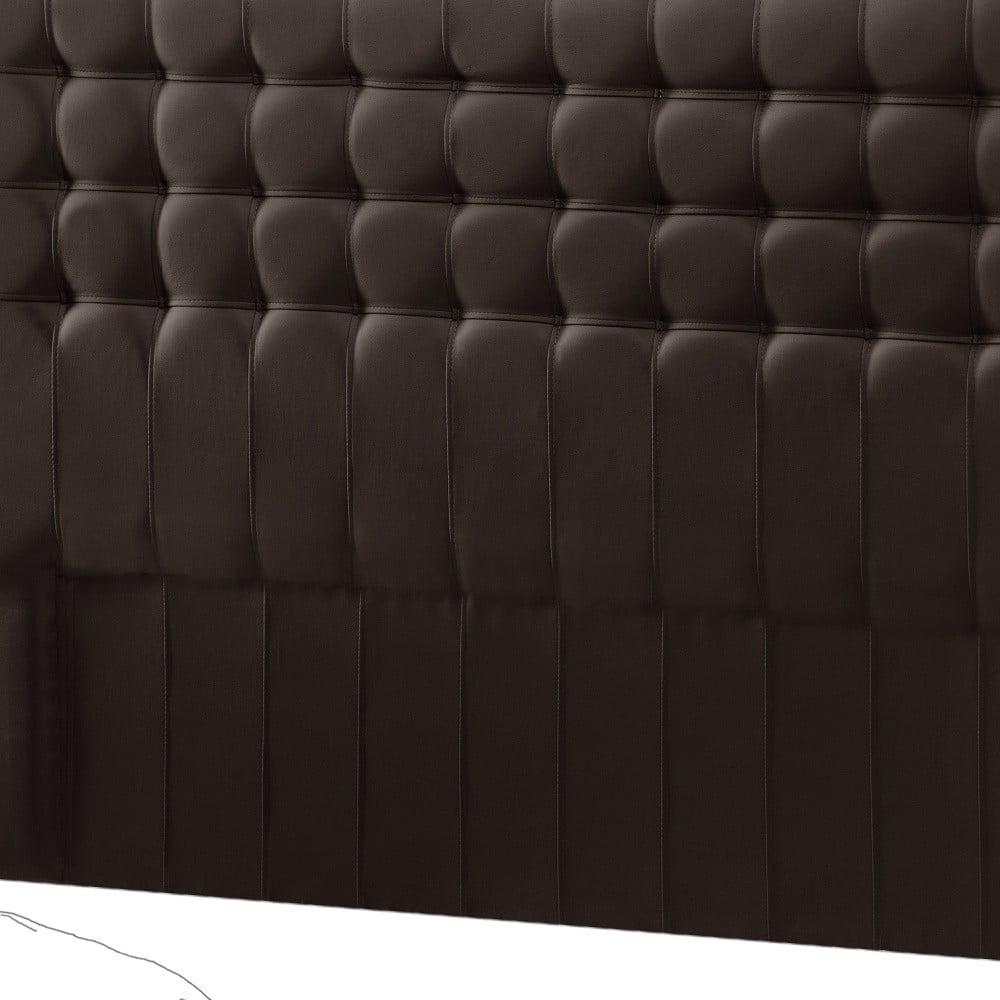 Hnědé čelo postele Novative Sylphyde, 160 x 118 cm