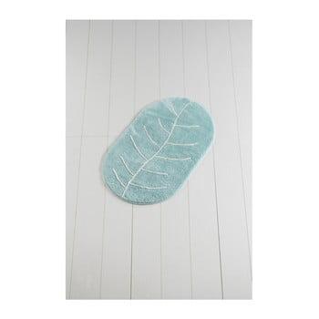 Covor de baie Yaprak Rock, 60 x 100 cm, albastru de la Chilai Home by Alessia