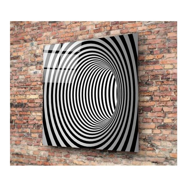 Skleněný obraz Insigne Yoni, 30x30cm