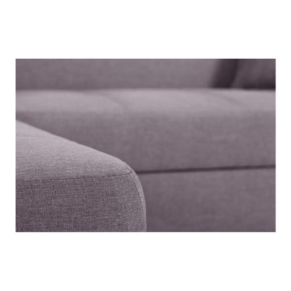 Pudrově růžová sedačka Interieur De Famille Paris Bijou, levý roh